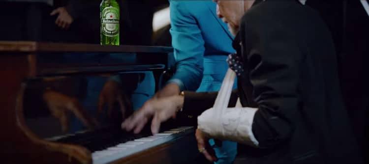 Piano e Heineken no Open Your City
