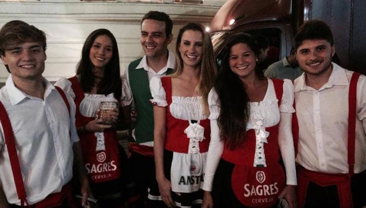 Equipe da Sagres e Amstel