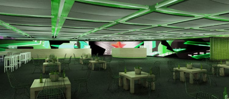 Heineken Glass Room