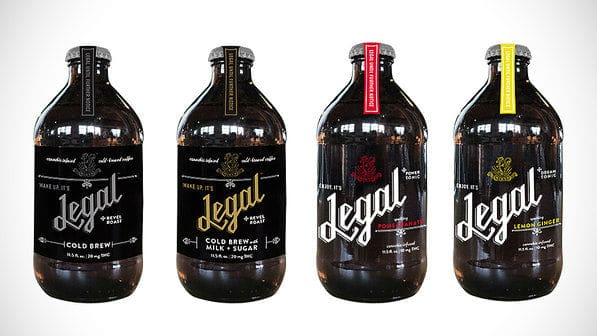 Legal, refrigerante de maconha