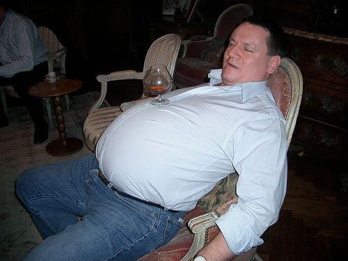Gordo bêbado