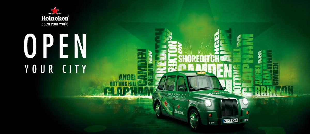 Heineken Open your City