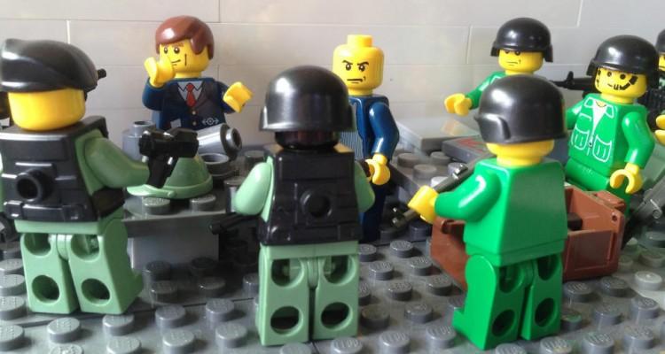 Lego e política