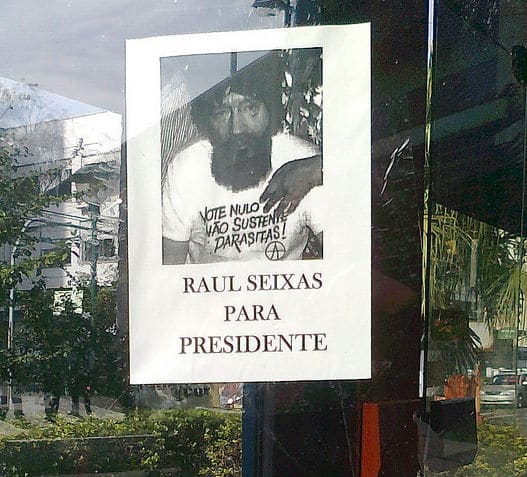 Raul Seixas pra presidente