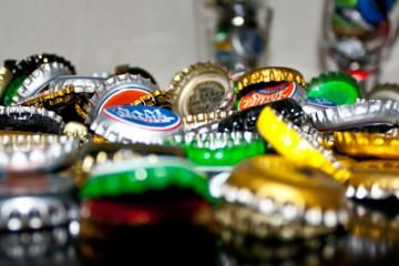 Tampinhas de garrafas