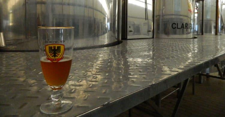 Copo da Cervejaria Dortmund