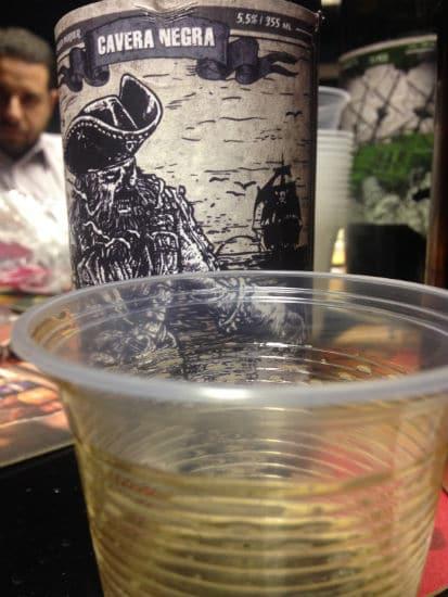 Cerveja Cavera Negra