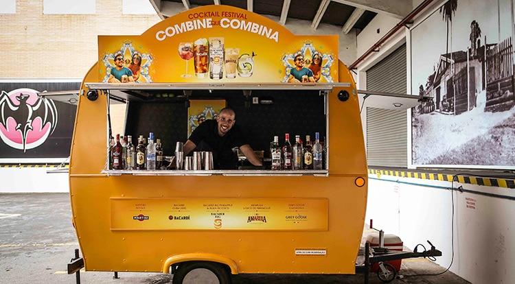 Drink Truck do Combine que Combina Bacardí