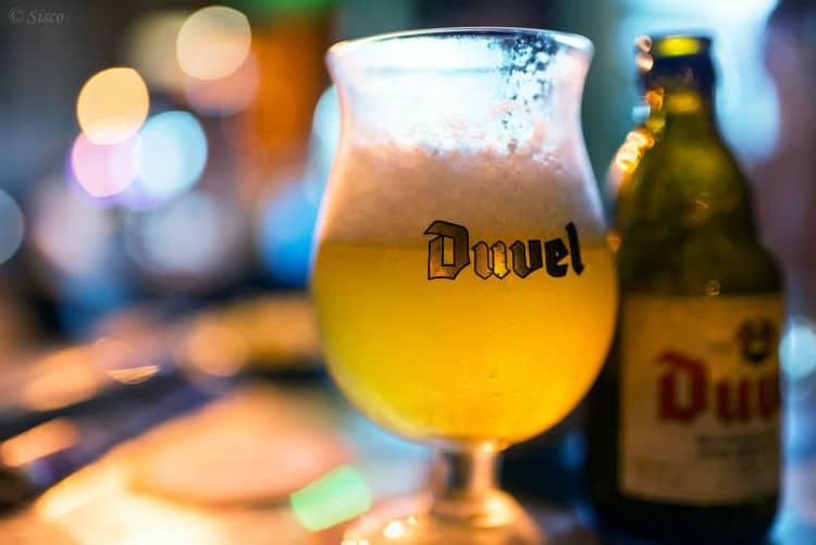 Garrafa da cerveja Duvel