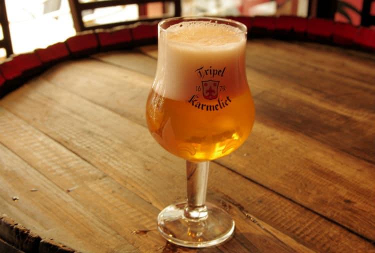 Copo da cerveja Tripel Karmeliet