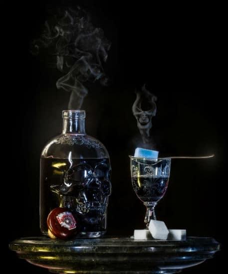 bebidas caveira