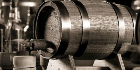 barril de cachaça