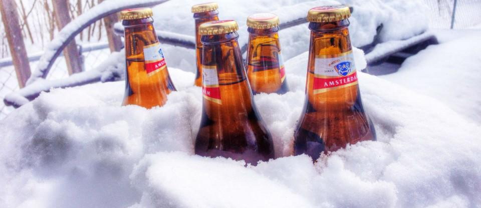 cerveja na neve