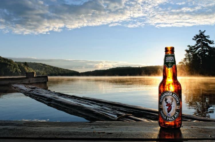 After Party: cerveja no pôr do sol