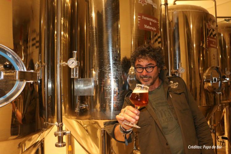 Teo Musso, mestre cervejeiro da Baladin.