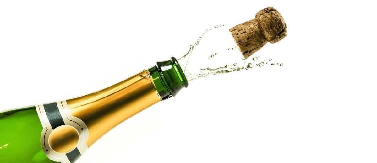 garrafa champagne