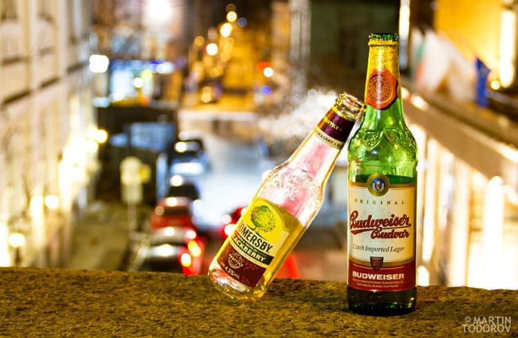garrafas de cerveja juntas