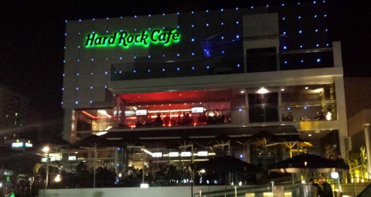 Entrada Hard Rock Cafe Curitiba