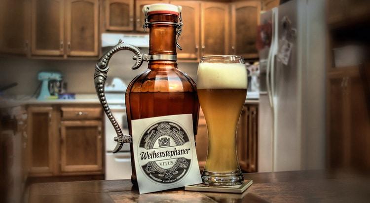 Garrafa da cerveja Weihenstephaner Vitus
