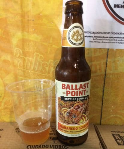 Garrafa da cerveja Ballast Point