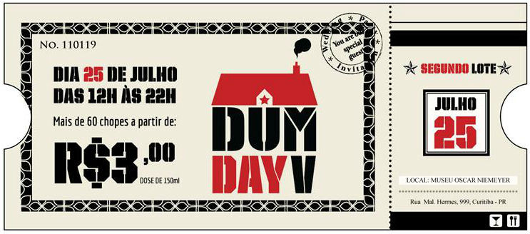 Ingresso do DUM DAY