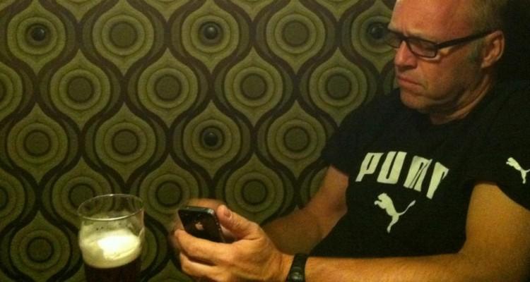 mensagem telefone cerveja