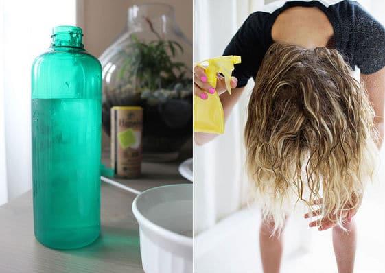 tratamento capilar com vodka