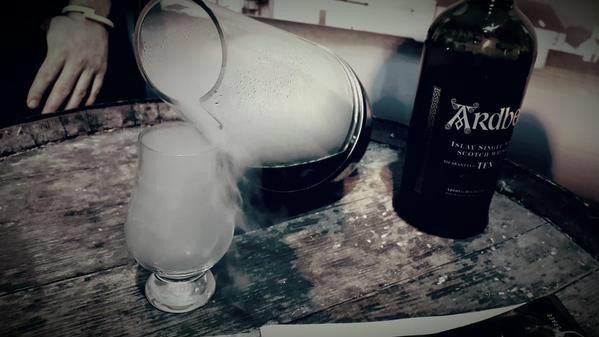 whisky a vapor Ardbeg