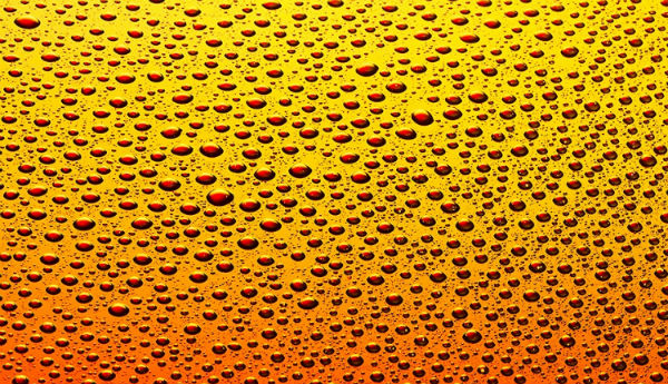cerveja gotas