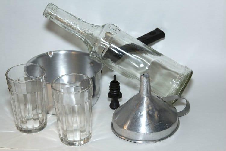 garrafa e Xarope Simples