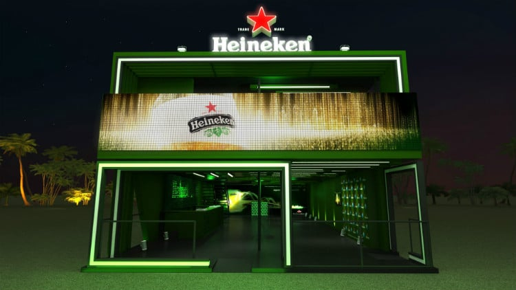 Lounge Heineken no Rock in RIo 2015