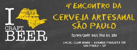 banner do 4º Encontro da Cerveja Artesanal São Paulo