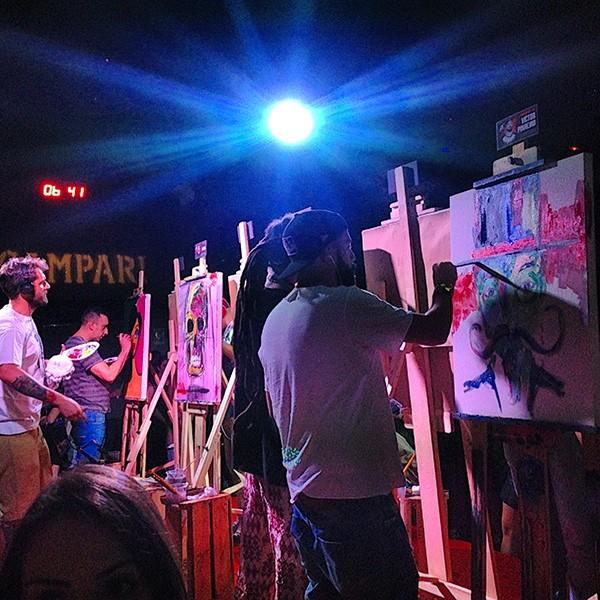 Batalha de artistas da Campari