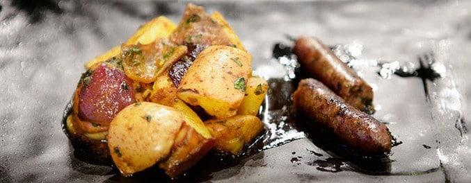 Linguiça de cordeiro com batatas do MasterChef