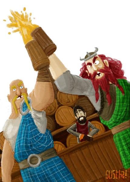 Um birnde viking
