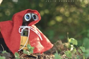 wally vestido de chapeuzinho vermelho