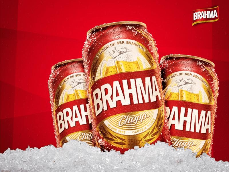 cerveja de boteco Brahma