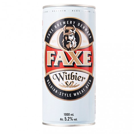 Lata Faxe Witbier
