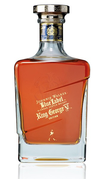 Garrafa do Johnnie Walker King George V