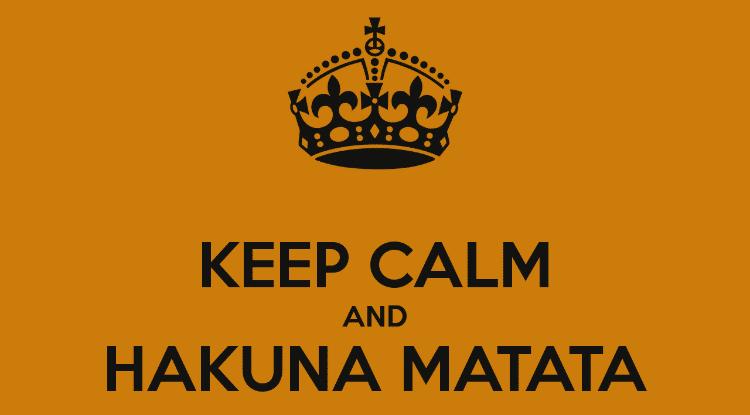 O Real Significado De Hakuna Matata Papo De Bar