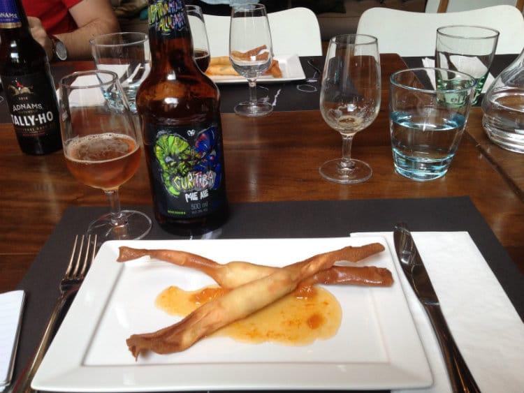 Entrada com Curitiba Pale Ale