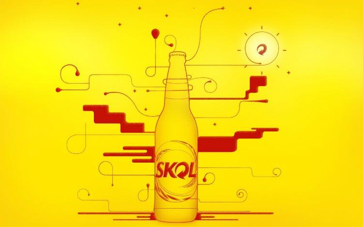 cerveja de boteco Skol