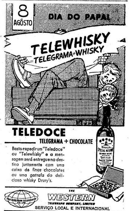 telewhisky e teledoce