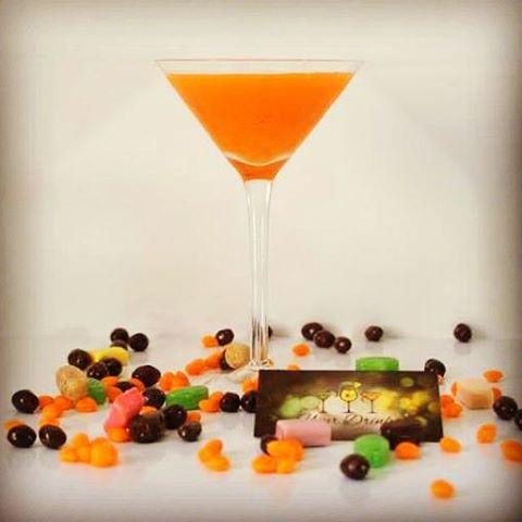 drink martini de abóbora