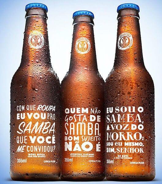 Samba inspirou a Antárctica nas suas novas garrafas