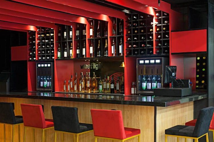wine flight por dentro