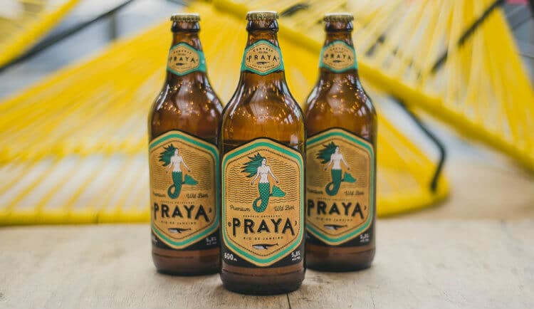 Cerveja Mangabeira Praya no Village Art Beer