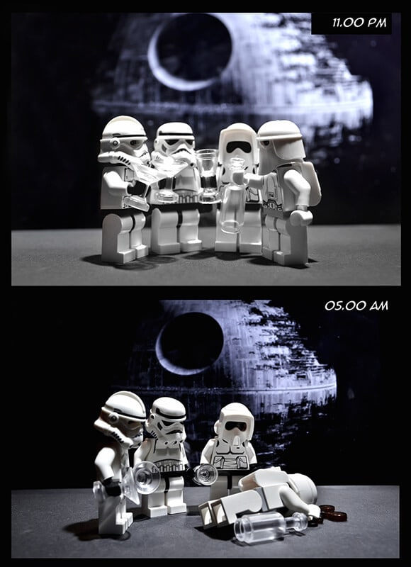 Storm Troopers bêbados