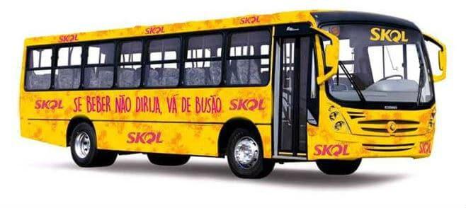 Skol oferece ônibus no Carnaval de BH