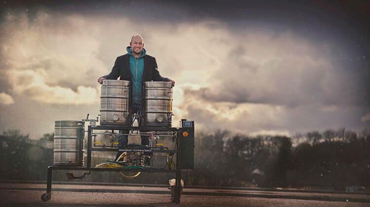Brewdog liberou suas receitas de 2016: cervejeiro com barris